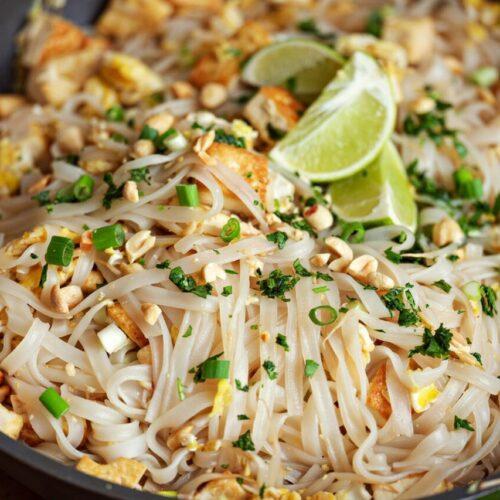 You Love Thai Food? Try This Tofu Pad Thai