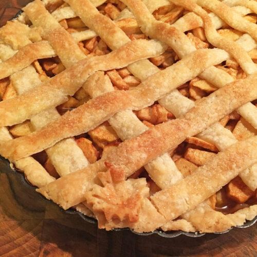 A Vegan Comfort Apple Pie