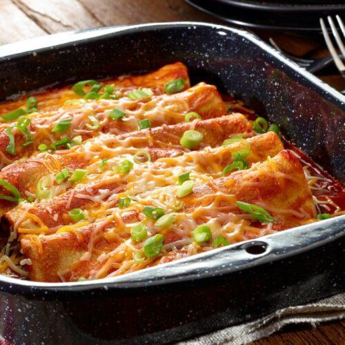 Have you ever tried Vegan Enchiladas?